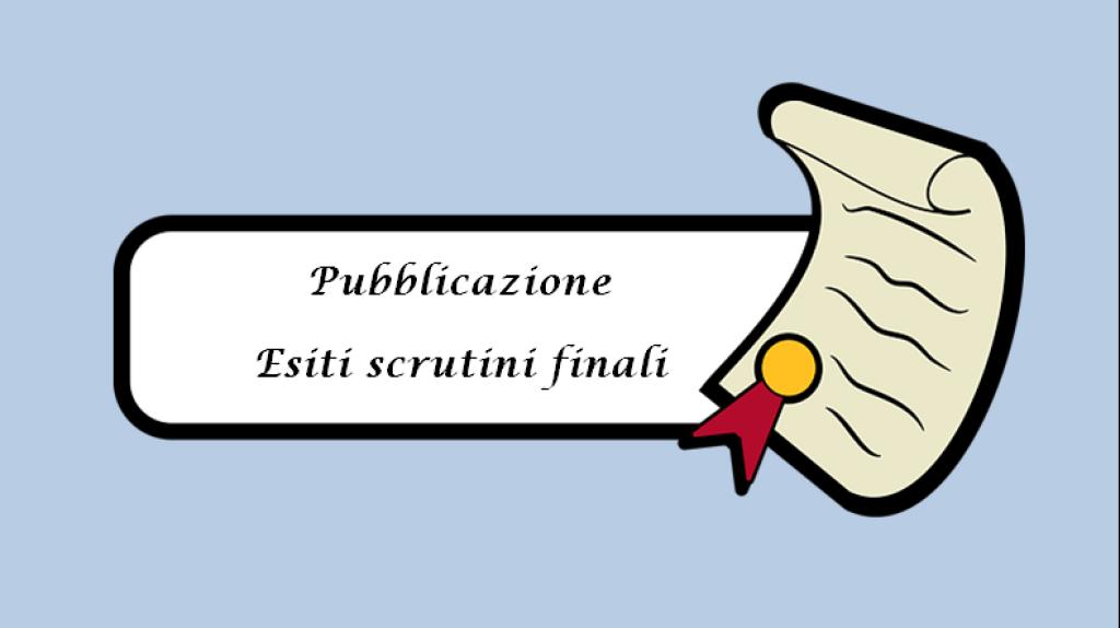 PUBBLICAZIONE RISULTATI ESITI SCRUTINI A.S. 2019-20