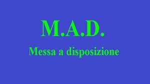 ACCETTAZIONE DOMANDE DI MESSA A DISPOSIZIONE- MAD- A.S. 2020/21